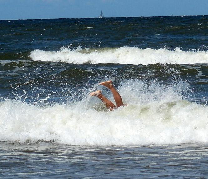 Kąpiel w Bałtyku
