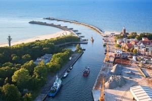 Port morski w Kołobrzegu