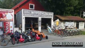 rowery gokarty sprzet plazowy serwis rowerowy warsztat