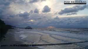 Ustronie Morskie sztorm
