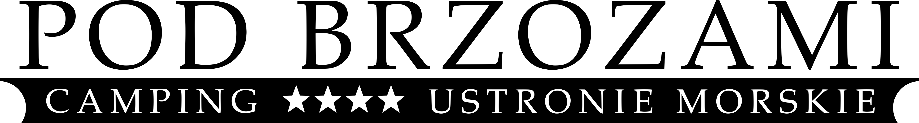 pole namiotowo kempingowe pod brzozami ustronie morskie