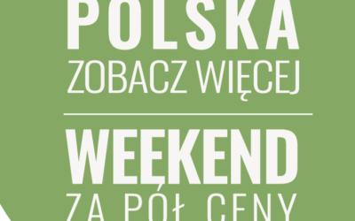 Pod Brzozami – weekend za pół ceny