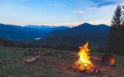 Camping przyjazdy środowisku
